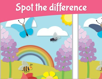 Bugs Spot the Difference