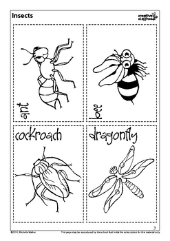 Bugs! Thematic Unit