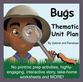 Bugs Thematic Unit Plan