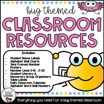 Classroom Decor: Bugs