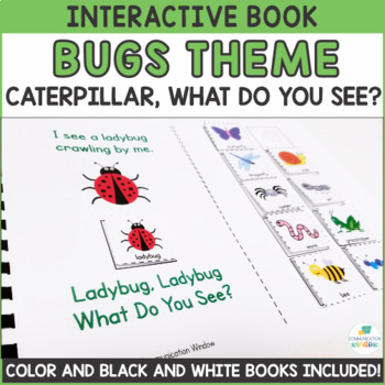 Bugs Theme Interactive Book Adapted Books - Dollar Deal!