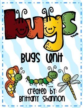 Bugs Unit- Math and Language Arts