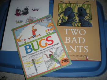 Bugs Unit with Books