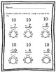 Bugs Vertical Subtraction Worksheets