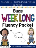 Bugs Week Long Fluency Packet