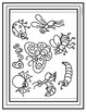 Bugs Word Search and Coloring Page