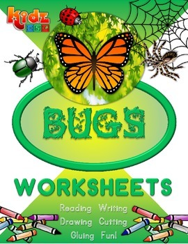 Bugs Worksheet Set with Activities (40 pages)