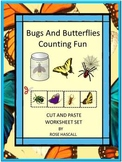 Bugs and Insects Activities, Insect Math Worksheets Kindergarten Special Ed
