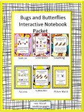 Bugs and Butterflies Interactive Notebook Special Education Fine Motor Skills
