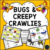 Insects and Creepy Crawlies Investigations, Activities and Emergent Reader