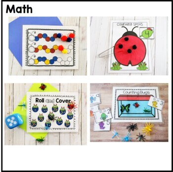 Bugs and Insects Preschool Pack