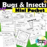 Bugs and Insects Printables & Interactive Worksheets