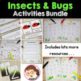 Bugs and Insects Activities Preschool to PreK - Bundle