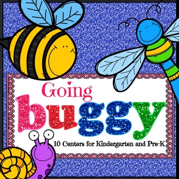 Bugs and Insects Activities for Kindergarten and Pre-K