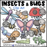 Bugs and Insects Clip Art Bundle (40 graphics) Whimsy Work