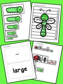 Bugs and Insects Math Activities