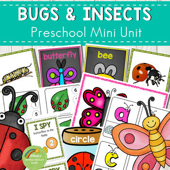 Bugs and Insects Preschool Mini Unit Activities