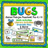 Bugs and Insects Theme Activity Pack