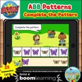 Bugs and Insects Themed Pattern Boom Cards™ - ABB Pattern