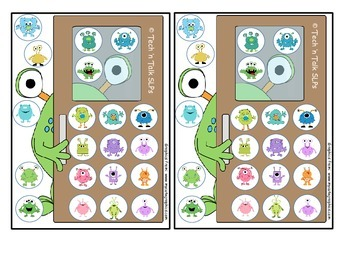 Bugs and Monsters Token Boards