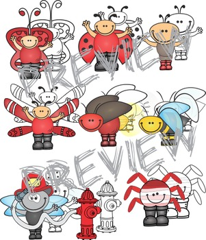 Bugs and more Clip Art