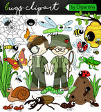 Bugs and Insects Clip Art (Digital clipart by Clipartino)