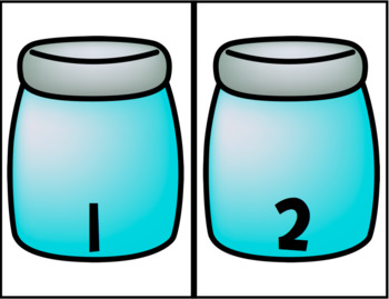 Bugs in Jars, Counting and Matching the Numbers 1 to 10