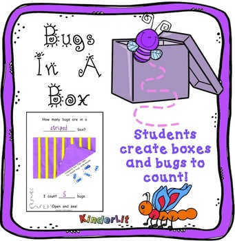 Bugs in a Box Counting Book