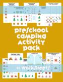 Camping Preschool Summer Packet