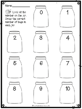 Bugs in a Jar {A Counting Game}