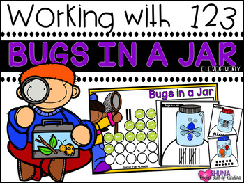 Bugs in a Jar  {A Working With Numbers Center}