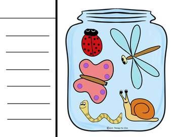 Bugs in a Jar Craftivity