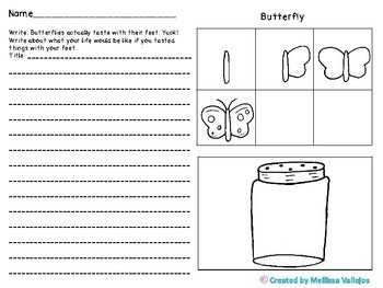 Bug in a Jar Directed Drawing and Writing Activity