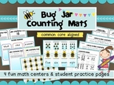 Bugs in a jar counting and matching math games- 4 Easy Pre