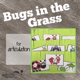 Spring Speech Craft:  Bugs in the Grass