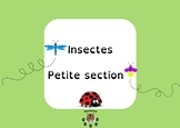 Bugs kindergarden - Insectes petite section
