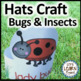 Bugs and Insects, Math and Literacy Activities Bundle, Bug