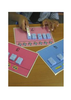 Bugs'n Bees Numbers 1-10 /Fine Motor Maths Center - Common Core Aligned