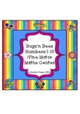 Bugs'n Bees Numbers 1-10 /Fine Motor Maths Center - Common