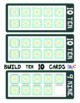 Build 10 Flowers Large Math Game Cards
