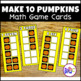 Build 10 Math Game Cards Handheld Size BUNDLE
