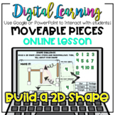 Build A 2D Shape with Marshmallows ~ONLINE Distance Learning Google Digital +PPT