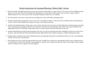 Build A Baby Genetics Activity (revised)