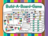 Build-A-Board-Game: Bold Colors Version {A Hughes Design}