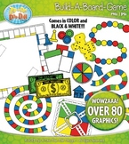 Build A Board Game Clipart Set 3 {Zip-A-Dee-Doo-Dah Designs}