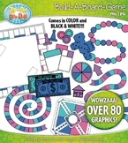 Build A Board Game Clipart Set 4 {Zip-A-Dee-Doo-Dah Designs}