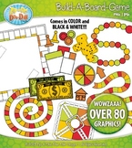 Build A Board Game Clipart Set 6 {Zip-A-Dee-Doo-Dah Designs}