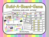 Build-A-Board-Game: Pastel Colors Version {A Hughes Design}