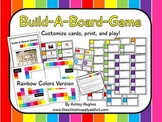 Build-A-Board-Game: Rainbow Colors {A Hughes Design}