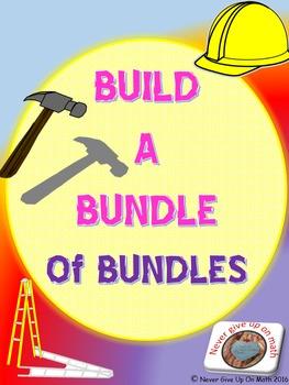 Build A Bundle of BUNDLES